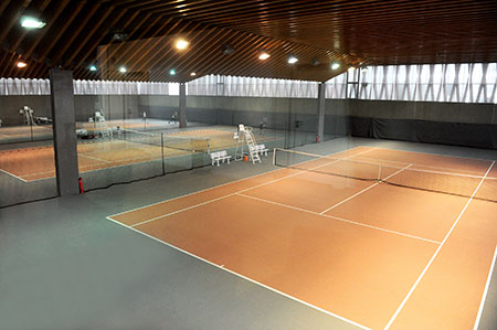 Stade de Ligue - courts en dur